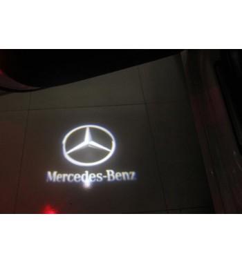 proyector logo hueco original MERCEDES BENZ