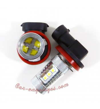 Kit de bombillas LED H8 80 Watios