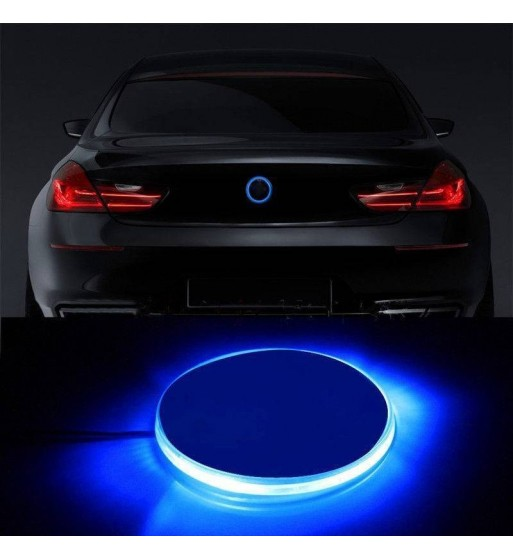 LOGO EMBLEMA BMW LED AZUL ILUMINADO