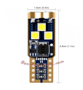BOMBILA 8 LED SMD CAN-BUS