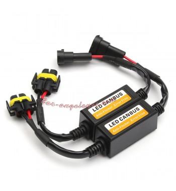 H11 LED Decodificador de faros Canbus libre de errores