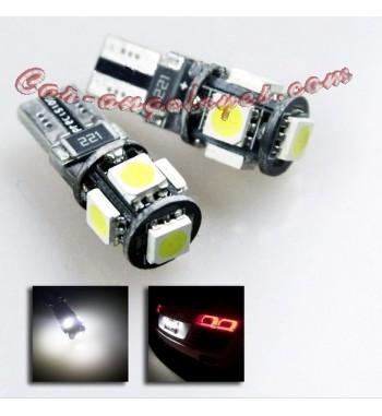 BOMBILLA LED BASE T10 5 SMD