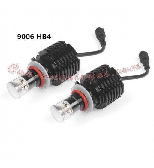 Kit de bombillas LED HB4 O 9006 20 W