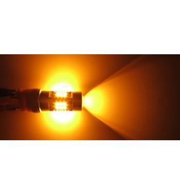 BOMBILLA LED T20 AMBAR