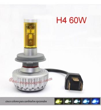KIT LED H7 PARA MOTO 3000 LM