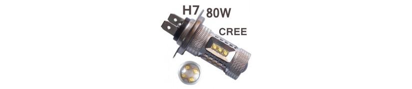 estos modelos de h7 son para colocacion en antiniebla, posicion , luz dia o direccionales