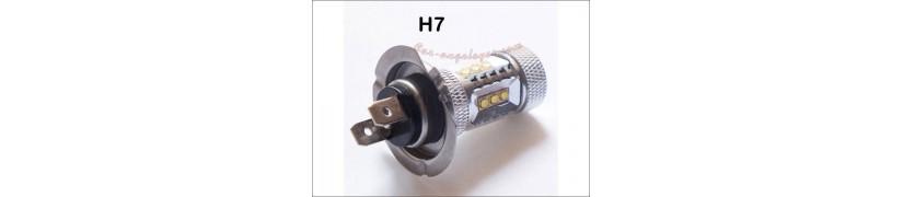 modelo bombilla led h7