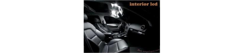 iluminacion led para coche posicion luz dia parte trasera