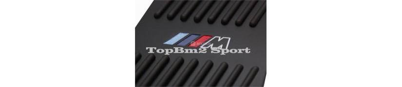 pedales de aluminio para vehiculo mercedes, bmw, audi ...